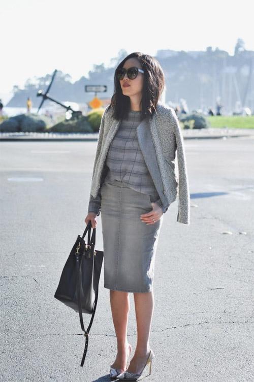 Một phụ nữ sành điệu sẽ mặc gì khi tới sở? - 7