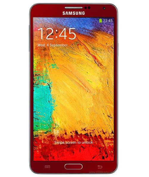 Ra mắt Galaxy Note 3 màu đỏ và vàng hồng - 1