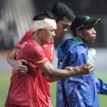 Thể thao - Các VĐV Việt Nam đổ máu vì tổ quốc tại SEA Games
