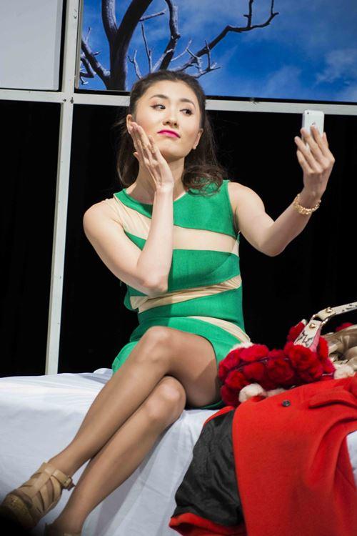 """Nguyệt Ánh """"lột xác"""" trên sân khấu kịch - 1"""
