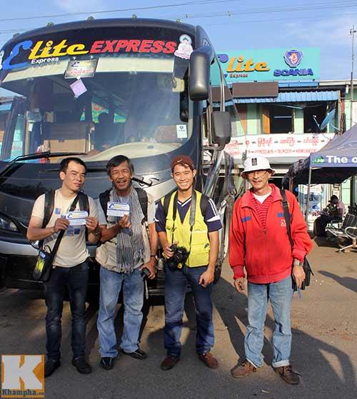 SEA Games nhìn từ hành trình 350 km xe đò - 2