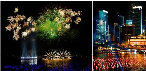 Du lịch Singapore - Đếm ngược năm mới 2014 - 1