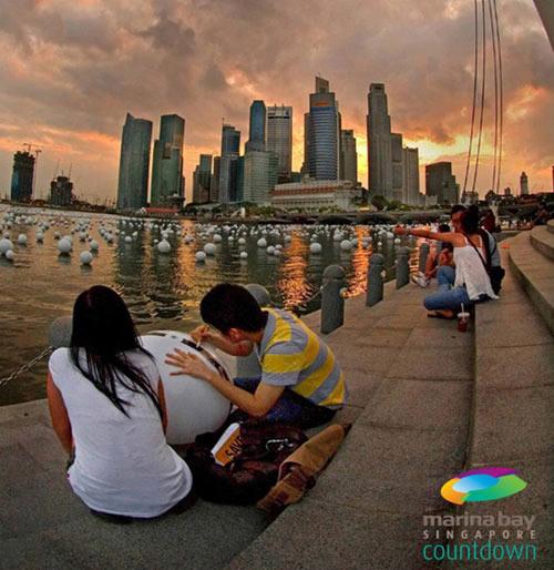 Du lịch Singapore - Đếm ngược năm mới 2014 - 2