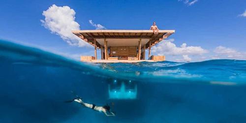 Ngủ với cá ở khách sạn dưới lòng đại dương - 3
