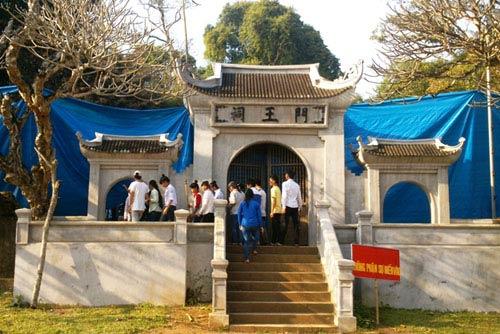 Bộ Công an vào cuộc vụ cháy đền thờ Lê Lai - 1
