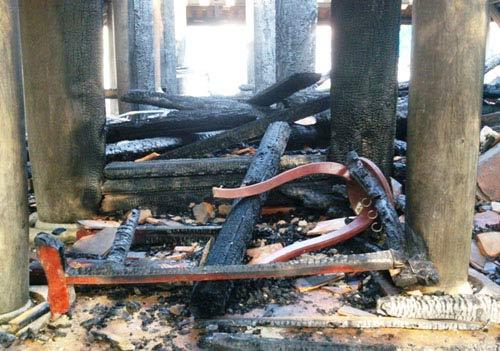 Bộ Công an vào cuộc vụ cháy đền thờ Lê Lai - 4