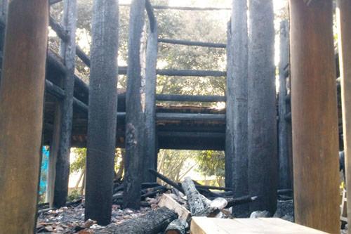 Bộ Công an vào cuộc vụ cháy đền thờ Lê Lai - 8
