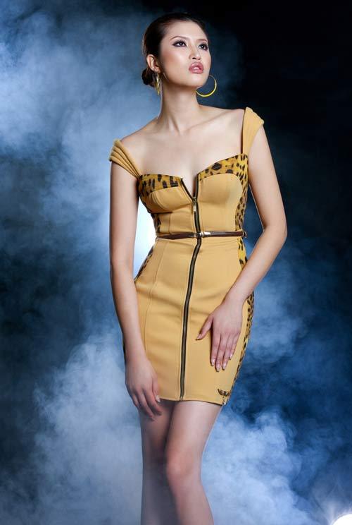 Dáng đẹp như Hoa hậu Hoàn cầu - 1