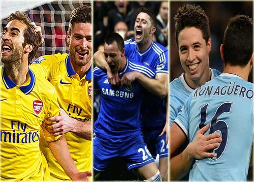 Chỉ Chelsea&Man City đủ sức đua với Arsenal - 1
