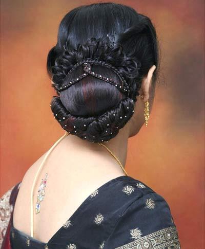 Ngắm kiệt tác tóc tết Ấn Độ - 3