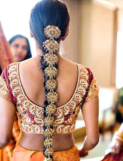 Ngắm kiệt tác tóc tết Ấn Độ - 5