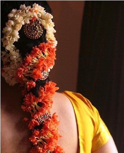 Ngắm kiệt tác tóc tết Ấn Độ - 7