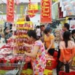 Thị trường - Tiêu dùng - Kinh tế khó khăn siêu thị vẫn tăng mạnh hàng Tết