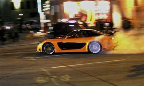 """Top 10 xế """"khủng"""" trong phim Fast and Furious - 3"""