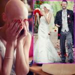 Tình yêu - Giới tính - Cô gái bị ung thư xúc động trong ngày cưới