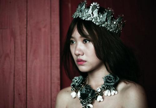 Hari Won xinh như công chúa Tuyết - 5