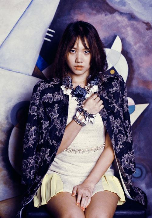 Hari Won xinh như công chúa Tuyết - 9