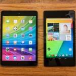 So sánh iPad Mini 2 với Nexus 7 2013