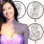 Thời trang - Tuyệt chiêu giấu áo ngực của mỹ nữ Hàn
