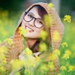 Bạn trẻ - Cuộc sống - Trang Cherry thắm sắc bên mùa cải vàng