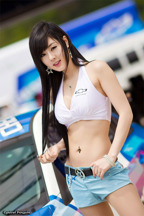Nguoi mau xe hoi Han Quoc - 1