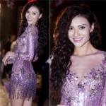 Thời trang - Hồng Quế mặc váy ngắn cũn giữa đêm lạnh