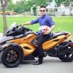 Ô tô - Xe máy - Ngọc Minh Idol bất ngờ khoe môtô khủng tiền tỷ