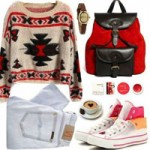 Thời trang - Mách khéo cách mặc áo len mùa Giáng Sinh