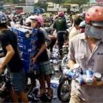 Vụ dân hôi bia: Lập hội ủng hộ tiền cho lái xe