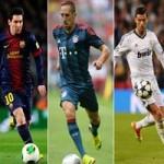 Bóng đá - Messi, Ronaldo, Ribery vào chung kết QBV