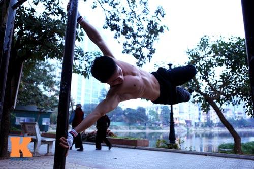 Giới trẻ Việt mê thể dục đường phố - 1