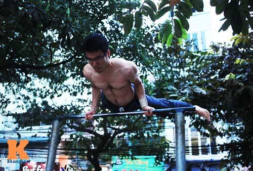 Giới trẻ Việt mê thể dục đường phố - 3