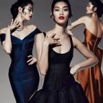 Thời trang - Váy dự tiệc cuối năm cho phái đẹp châu Á