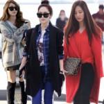 Thời trang - Sao Hàn cạnh tranh khốc liệt tại sân bay