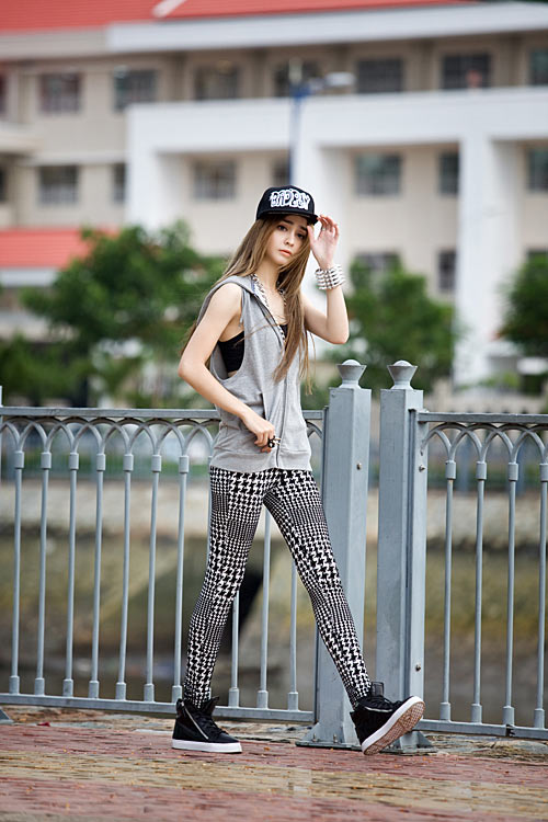 Phong cách trẻ của hot girl lai Pháp - 8