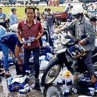 """Khởi tố vụ """"hôi"""" bia ở Đồng Nai"""