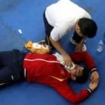 Thể thao - Đô vật Văn Khoa quỵ ngã sau khi nhận HCĐ