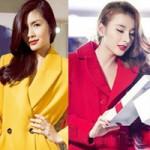 Thời trang - Măng tô sắc màu đang ngập showbiz Việt
