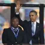 Clip: Phiên dịch dỏm múa may ở lễ tang Mandela
