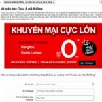 Thị trường - Tiêu dùng - Lừa tặng vé máy bay Vietnam Airlines giá 0 đồng