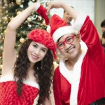Don Nguyễn đón Noel bên người đẹp