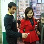 Bóng đá - Quốc Vượng bán vé xe Tết ở Hà Nội