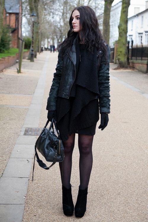 Để thêm yêu chiếc váy đen! - 10