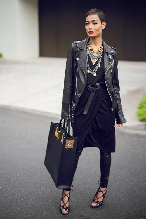 Để thêm yêu chiếc váy đen! - 12