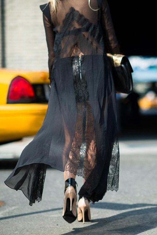 Để thêm yêu chiếc váy đen! - 13