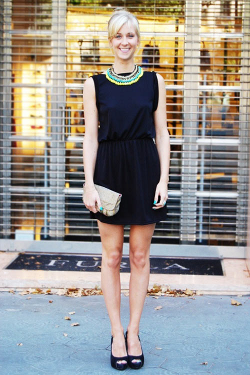 Để thêm yêu chiếc váy đen! - 5