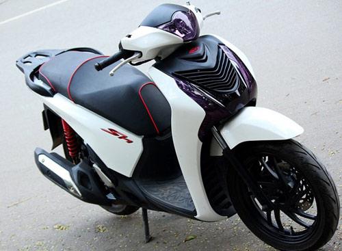 Trào lưu độ mặt nạ cho Honda SH 2012 - 4