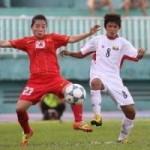 Bóng đá - ĐT nữ VN - Myanmar: Bản lĩnh thép