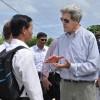 Ngoại trưởng Mỹ hứa hỗ trợ VN 17 triệu USD ứng phó biến đổi khí hậu
