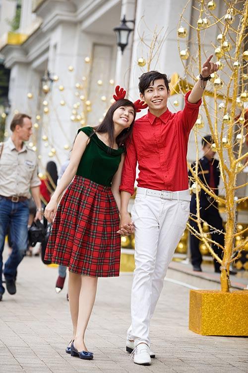 Bạn trẻ Sài Gòn khoe phong cách Giáng sinh - 2